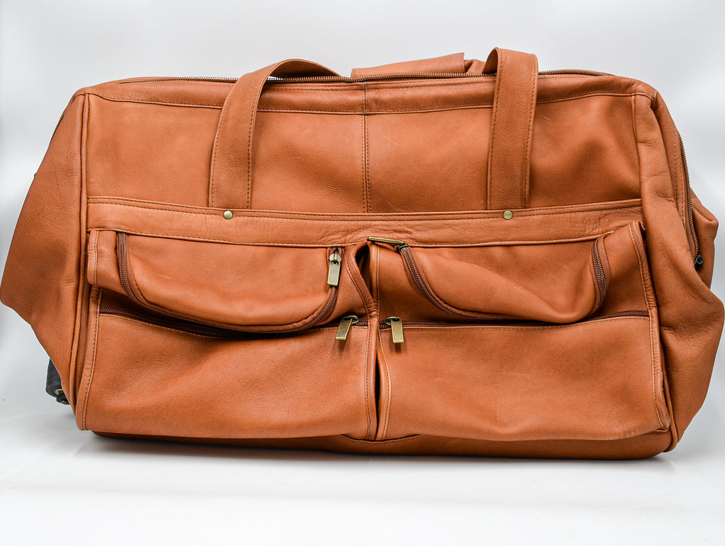 Leather: Andrew Phillips Deluxe Framed Cabin Bag