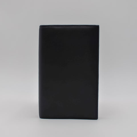 Leather: 4 x 7 Leather cover 6-ring binder for 3-3/4 x 6-3/4 Insert
