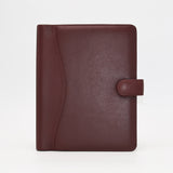 Leather: 6 x 9 Leather Cover with Snap Closure for Wirebound, 3-hole, or 7-hole Inserts
