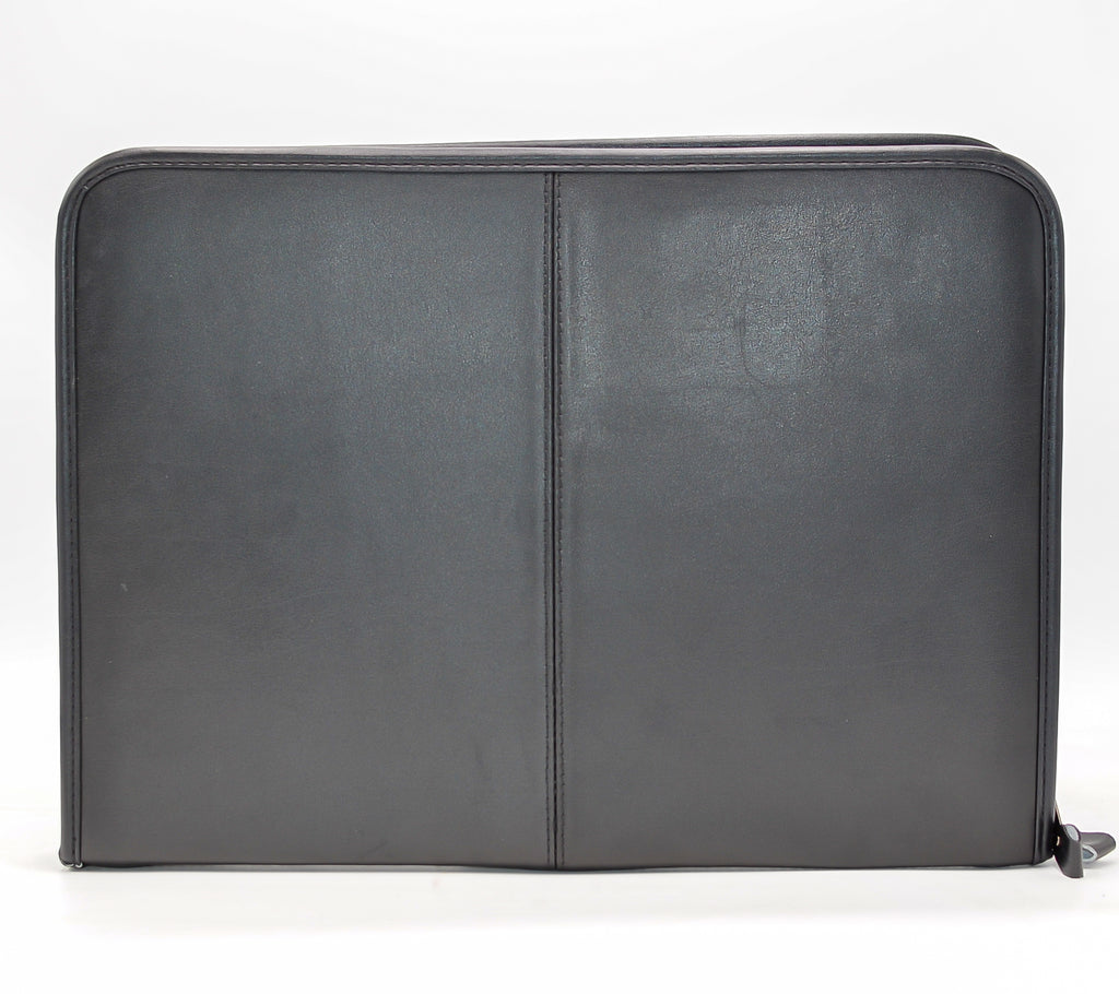Leather: Zip-around Legal Pad Organizer Padfolio