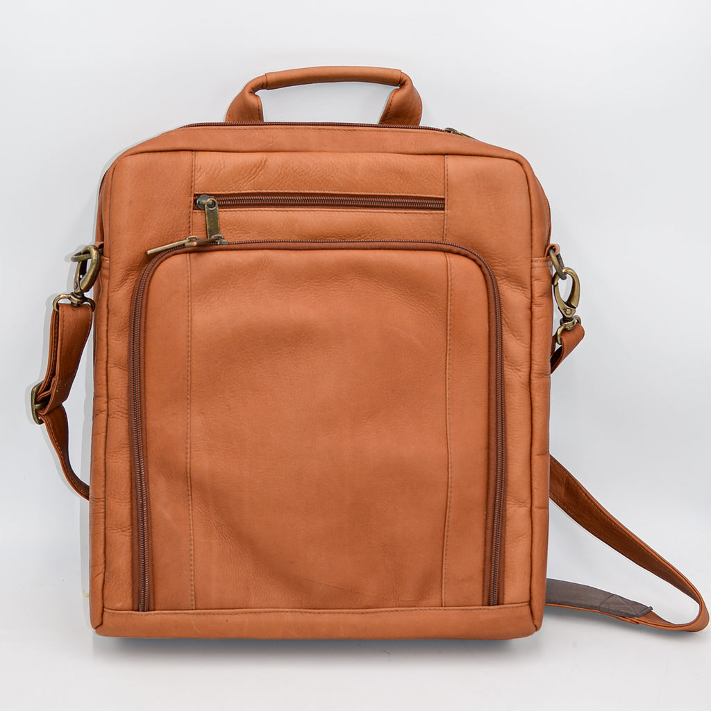Leather: Slim Laptop Briefcase