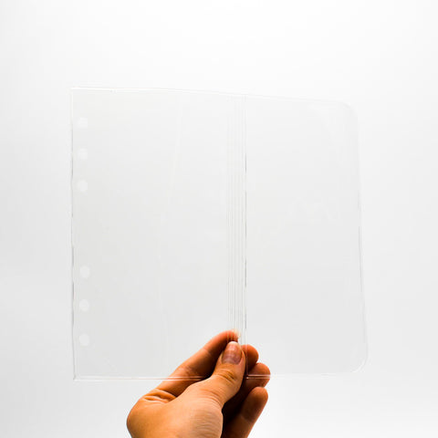 "Page Protector Flap: MPP46P6 for 3 3/4"" x 6 3/4"" 6-Hole Insert"