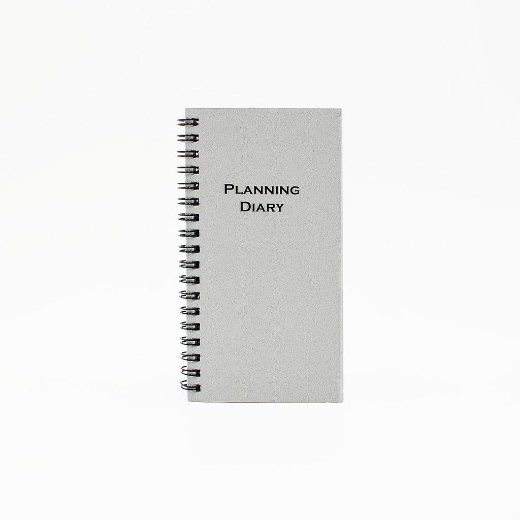 "McCarthy Collection: MW36W 6-1/4"" x 3-1/4"" Wirebound Planner"