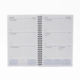 "McCarthy Collection: MW58W 8"" x 5"" Wirebound Planner"