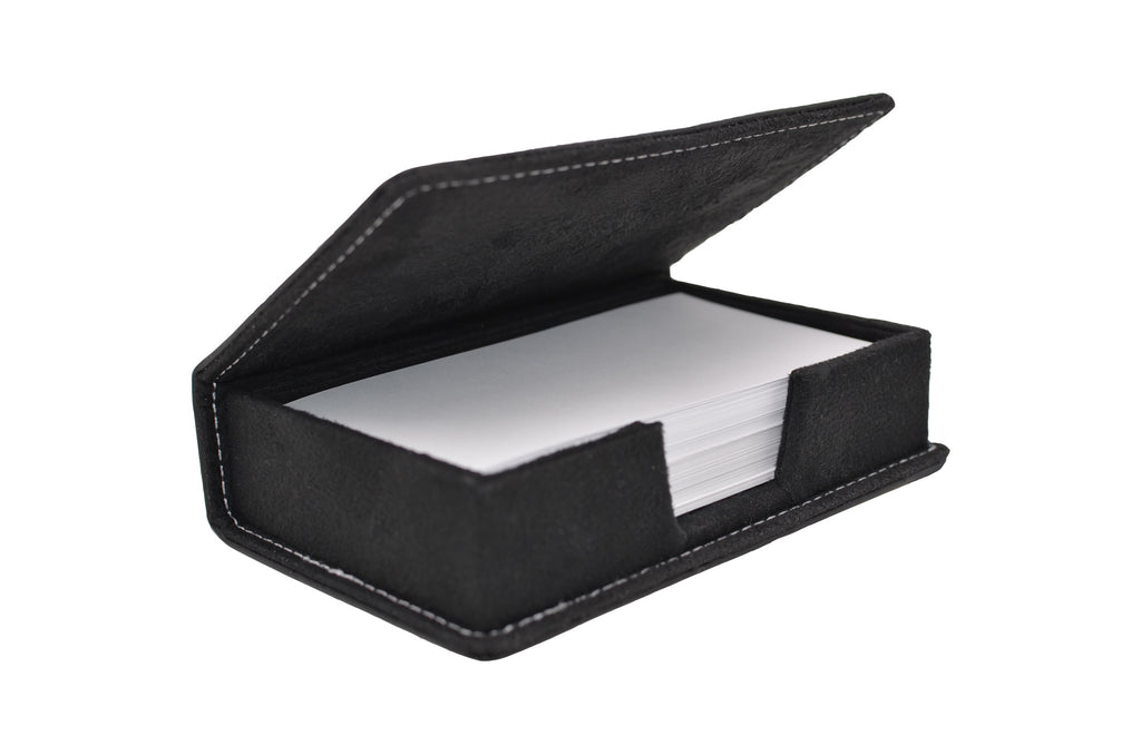 Leather: Desk Note / Index Card Holder