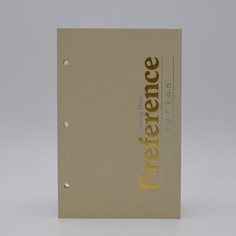 Preference Collection: PD823I 8-1/2 x 5-1/2 3-hole Planner monthly weekly calendar for 2019 or 2020 ivory loose leaf