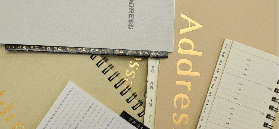 address Tabs books refills a to z organizer sungraphix