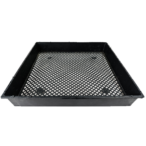 "4 Black 17""x17"" Gardening Screen Tray by Home Greens - Home Greens"