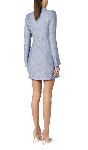 SOLE LINEN BLAZER DRESS