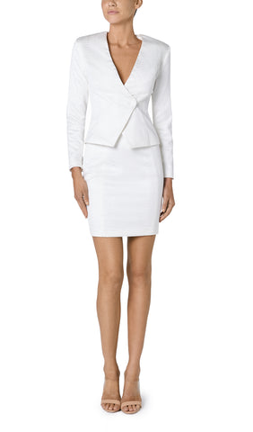 FREYA TEXTURED CUT OUT JACKET