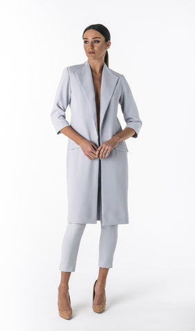 AURORA OVERSIZED COAT (GREY LILAC)
