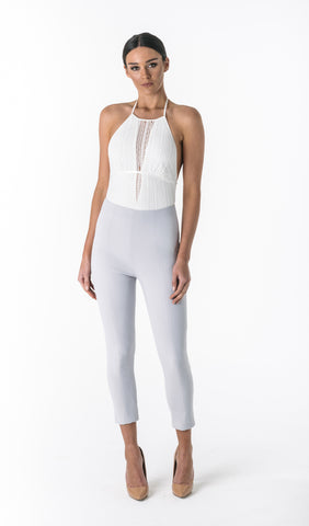 AURORA HIGH WAISTED PANTS (GREY LILAC)