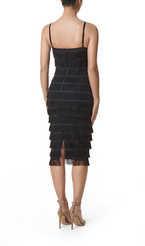 FREYA FRINGE MIDI DRESS