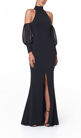 VALERIA HIGH NECK GOWN