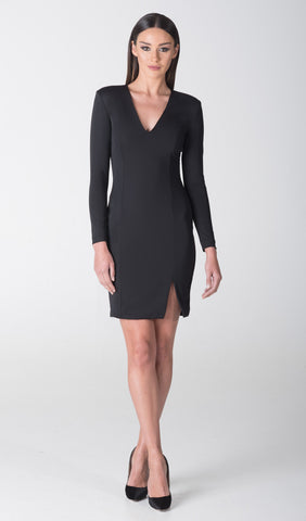 SIENNA FRONT SLIT DRESS