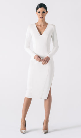 GIADA SIDE SLIT DRESS