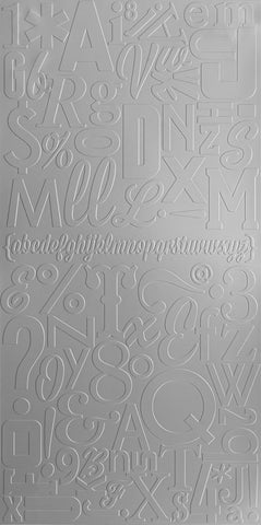 Alphabet Soup - MIRROFLEX - Panel para Pared
