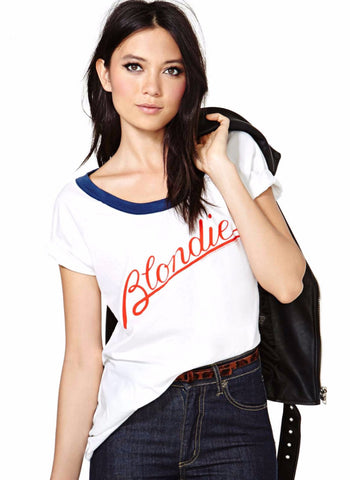 Blondie Vintage Band Tee-Womans-Vintage Rockstar