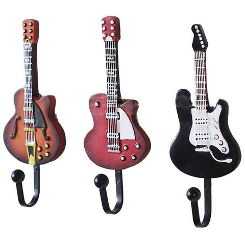 Electric Guitar Hooks-Home Decor-Vintage Rockstar