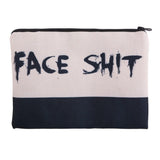 Face Shit Make-Up Bag-Other Stuff-Vintage Rockstar