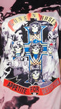 Guns N Roses Tshirt Dress-Womans-Vintage Rockstar