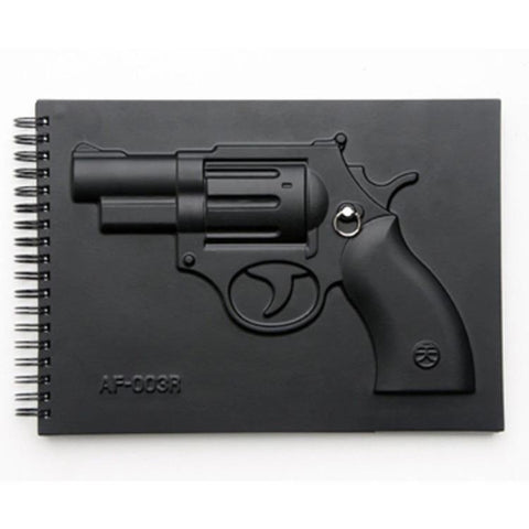 Handgun Notebook-Other Stuff-Vintage Rockstar