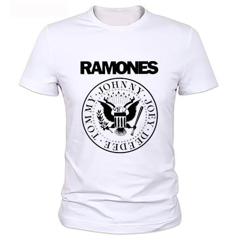 The Ramones Basic Mens T-shirt-Mens-Vintage Rockstar