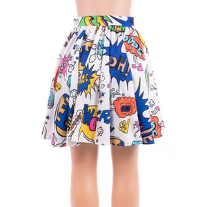 Comic Babe Skater Skirt