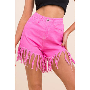 Fringe with benefits shorts