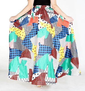 Abstract Expression Skirt