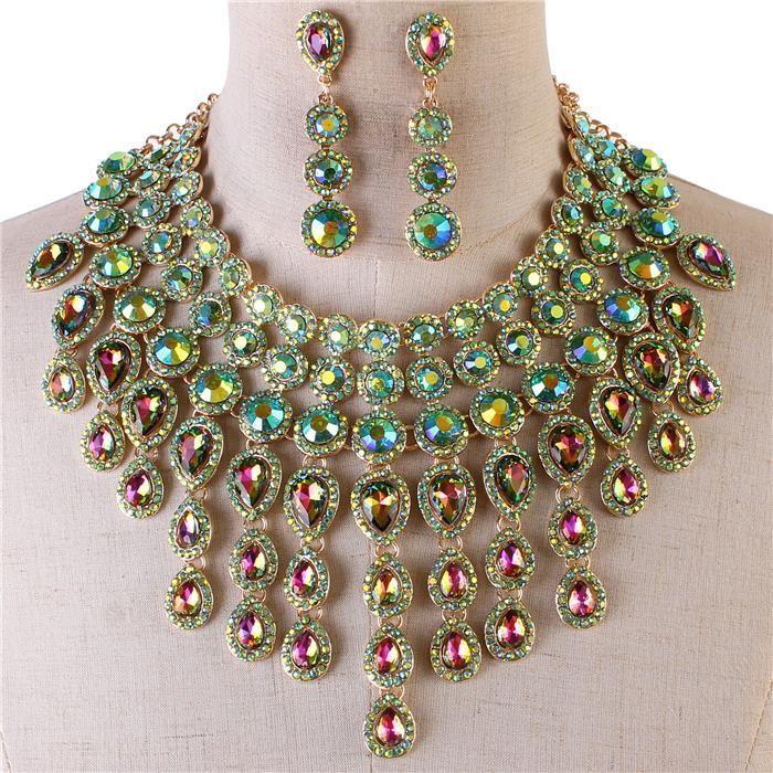 Majestic Crystal Necklace Set