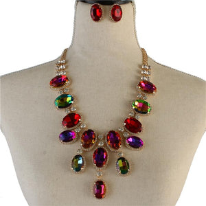 Bella Sparkle Necklace Set
