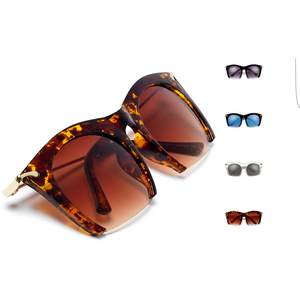 Cutting Edge Rimless Sunglasses