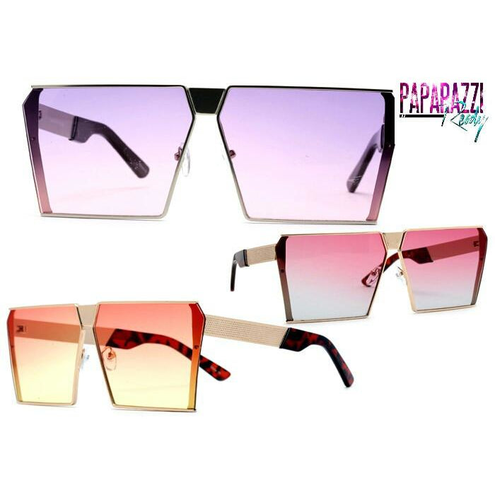ombre sunglasses, flat top sunglasses, aviator, ombre aviator, oversized aviator sunglasses