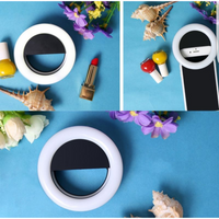 Rechargeable Selfie LED Ring Light