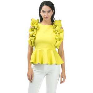 Karli Ruffled Blouse
