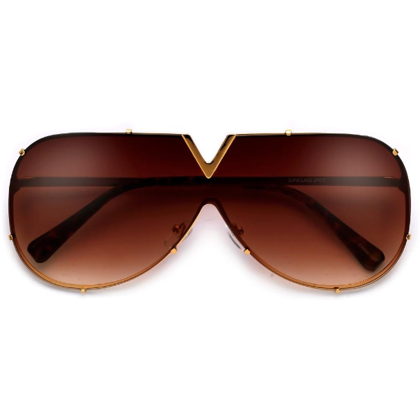 Glam it Up Aviator  Sunglasses