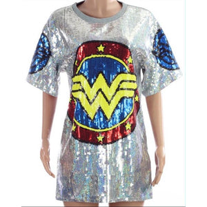 She-ro Sequin Tunic
