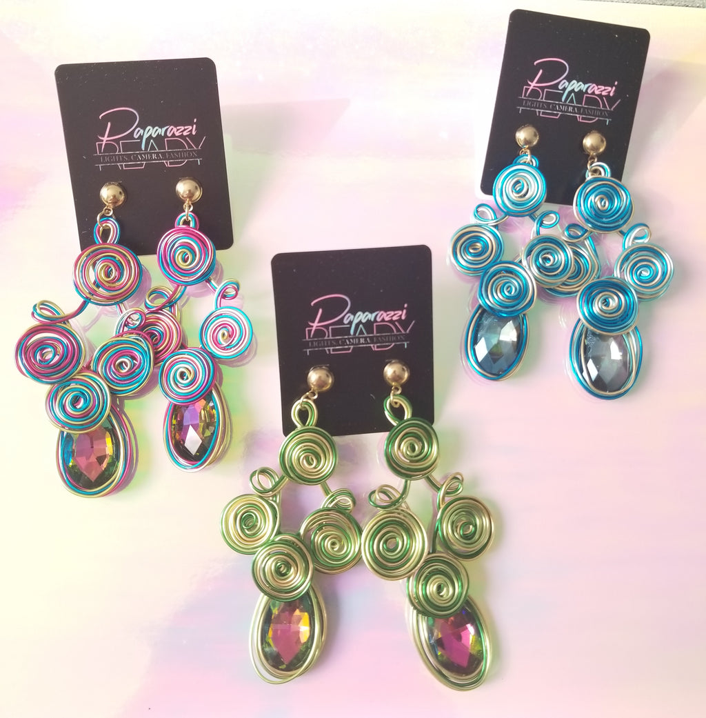 Fine Art Metallic Earrings