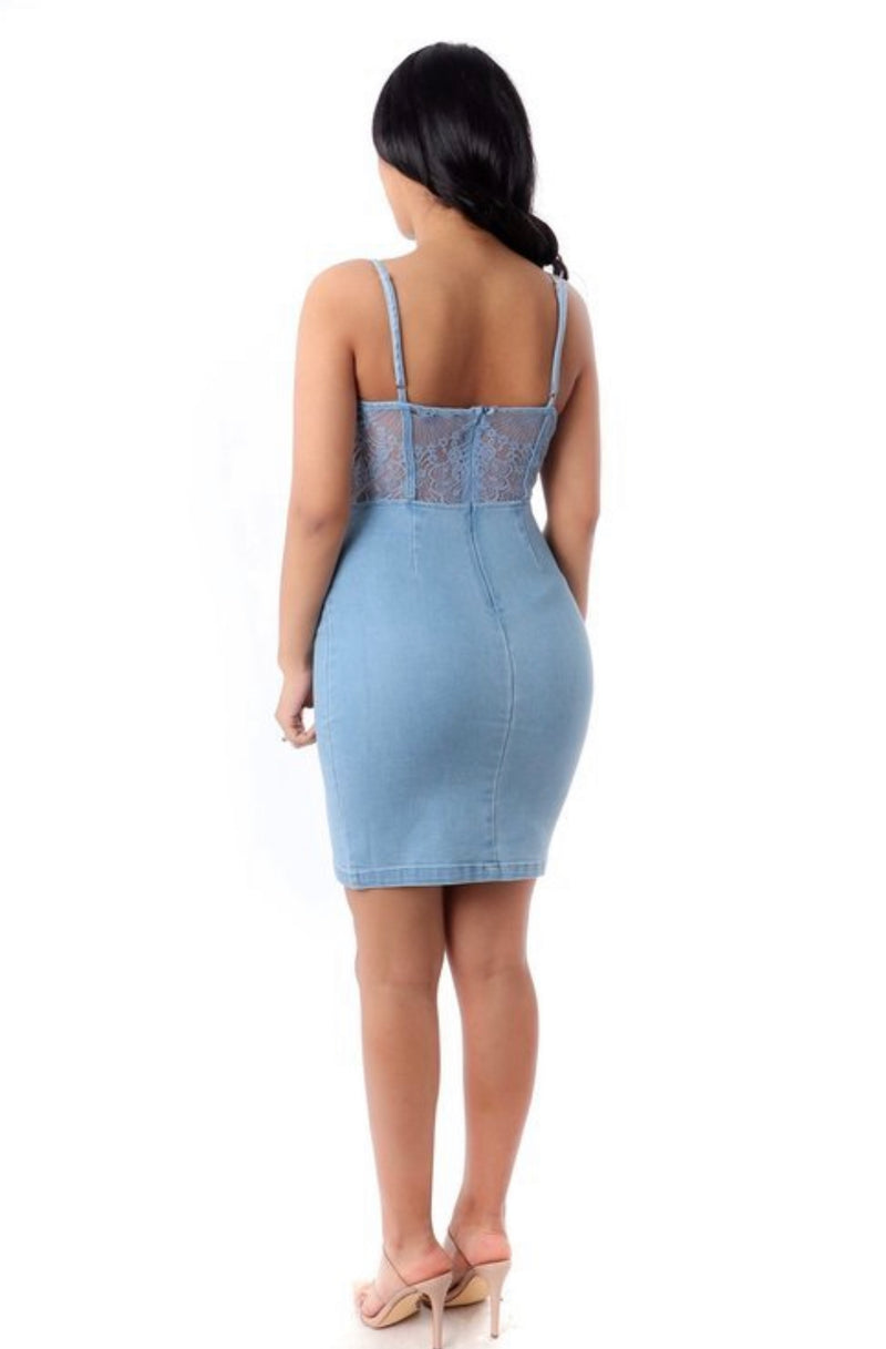 Envy Me Denim Dress