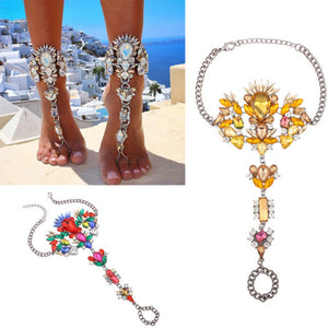 Beach Goddess Foot Chain