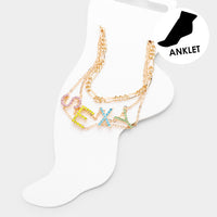 Colorway Anklet