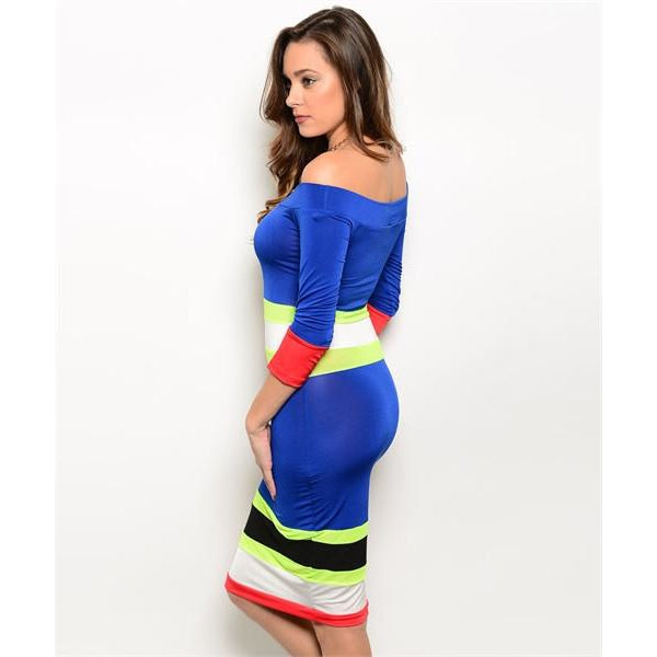 Blue Moonlight Bodycon Dress