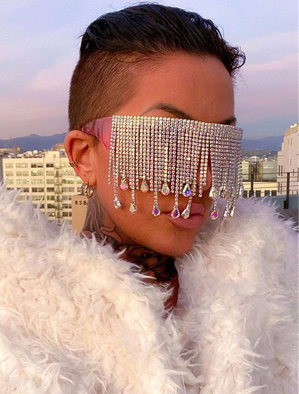 Hollywood Glam Sunglasses