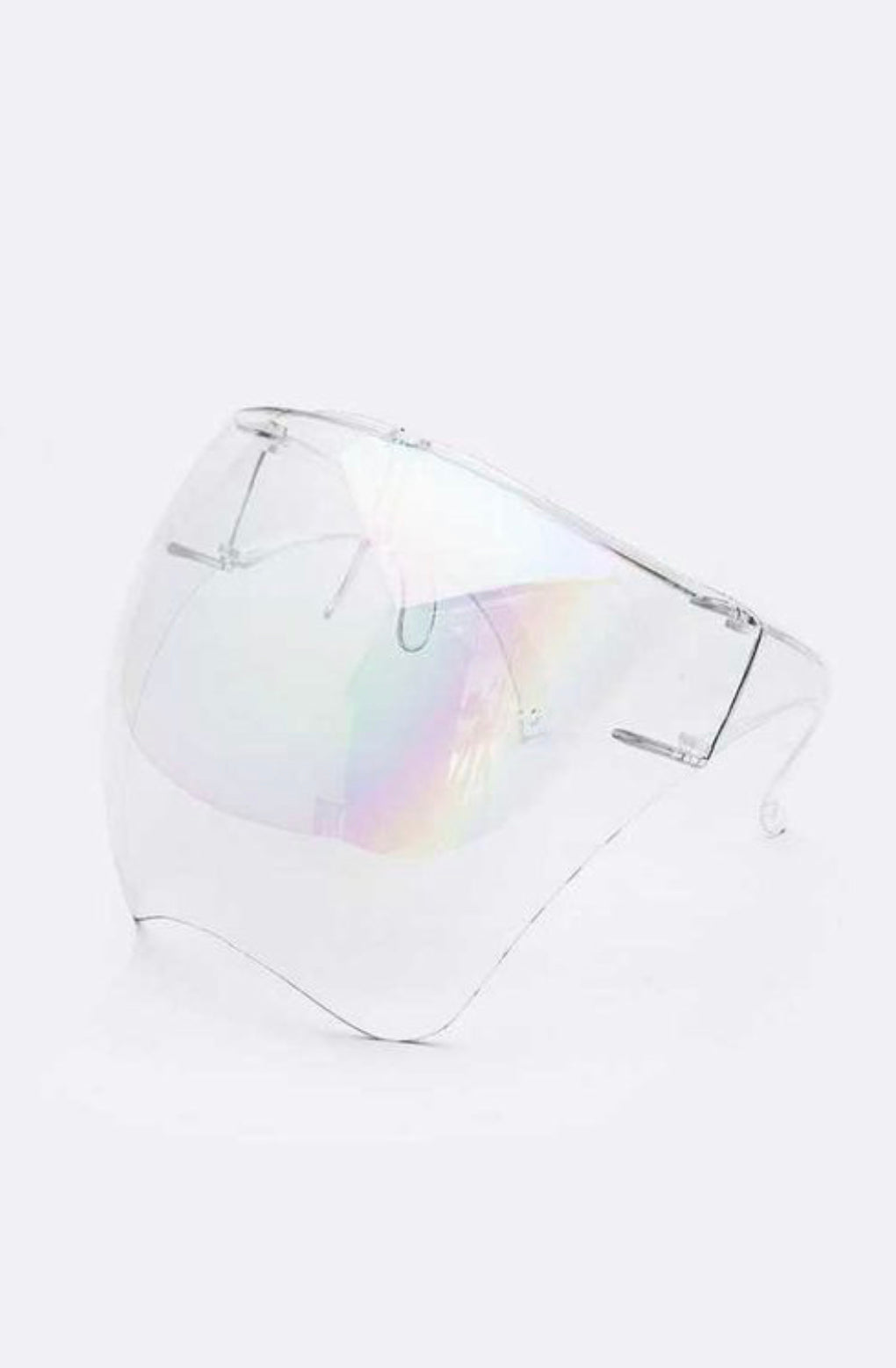 Iridescent Face Shield