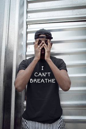 I can't Breathe Tee w/Mask (MEN)