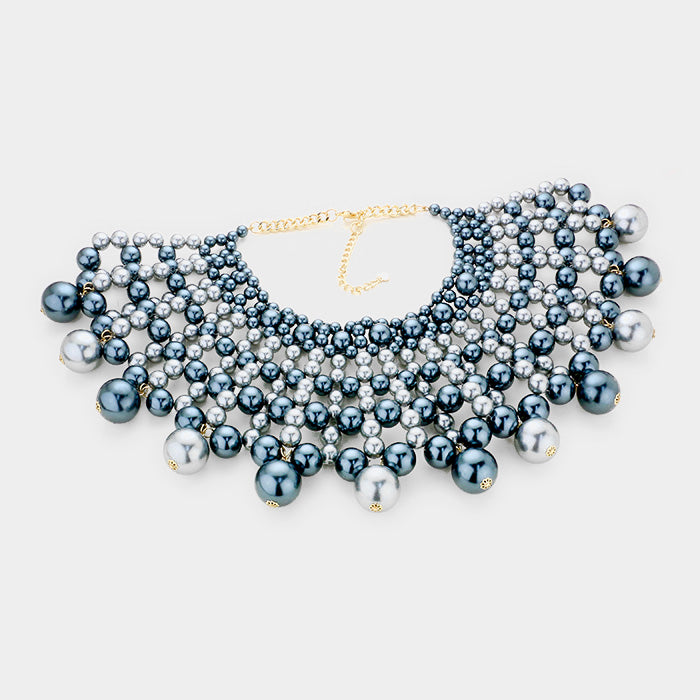 Pearl Armor Necklace Set