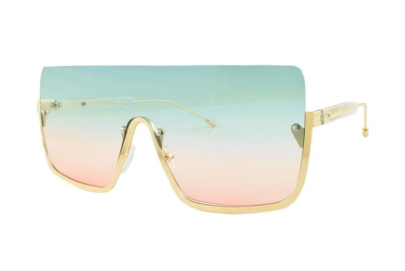 Vivid Colours Ombre Sunglasses
