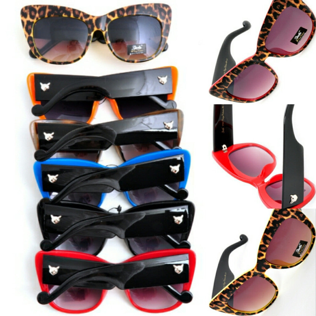 Leopard Affair (Sunglasses)