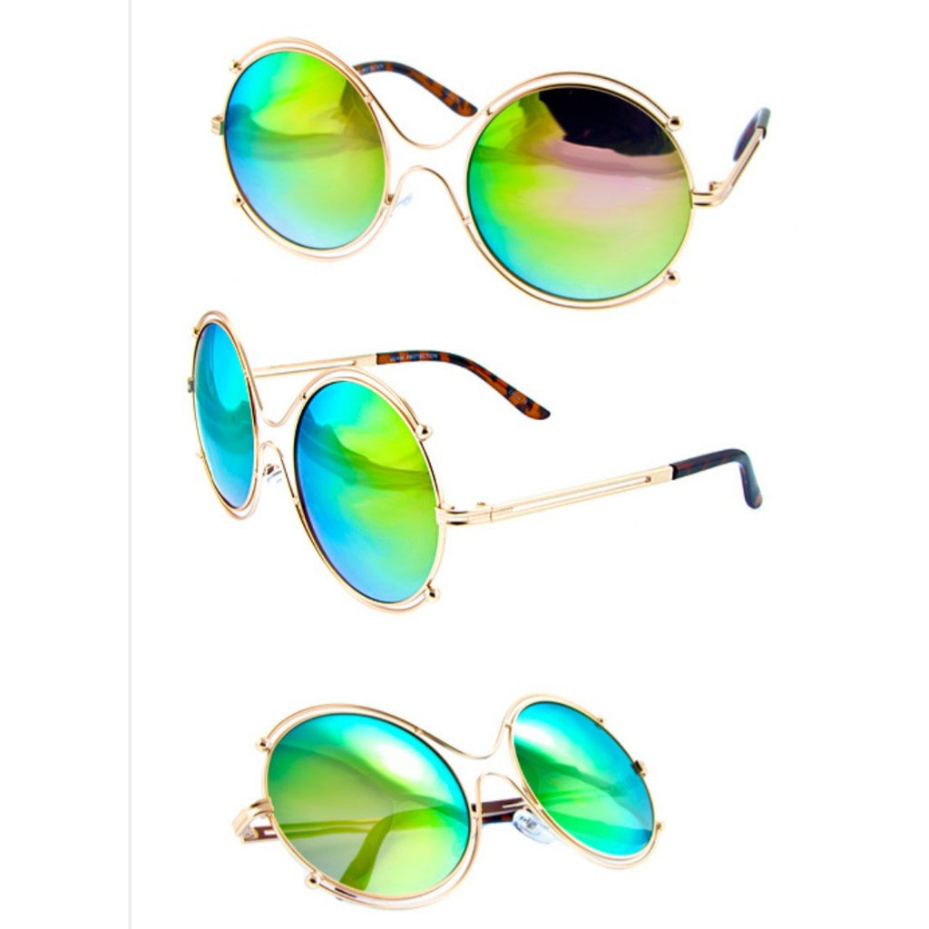 High Fashion Mirrored Sunglasses